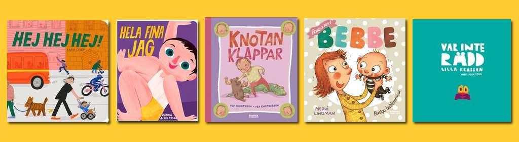 bokomslag böcker för högläsning